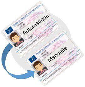 Passerelle permis manuelle